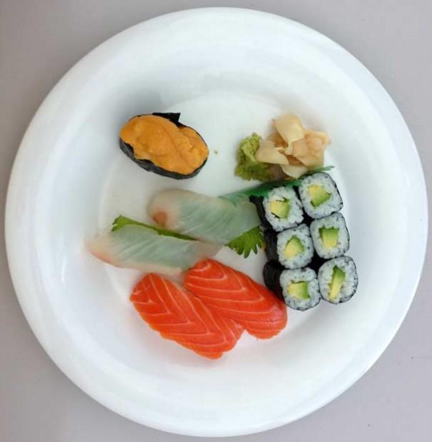 Al iPhone 5 le gusta el sushi