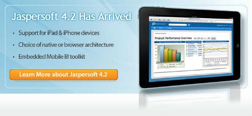 Jaspersoft lanza su suite de inteligencia de negocio Jaspersoft 4.2