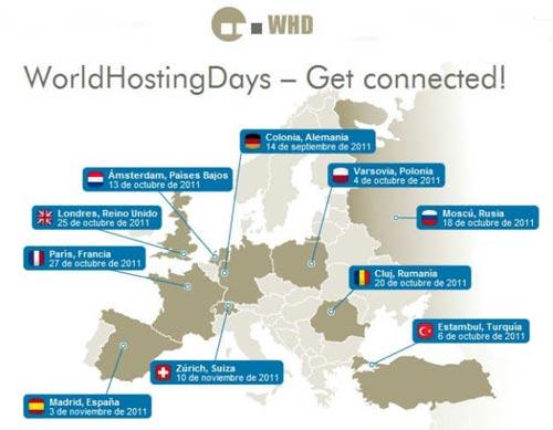 Regalamos 100 entradas para el evento de hosting WorldHostingDays