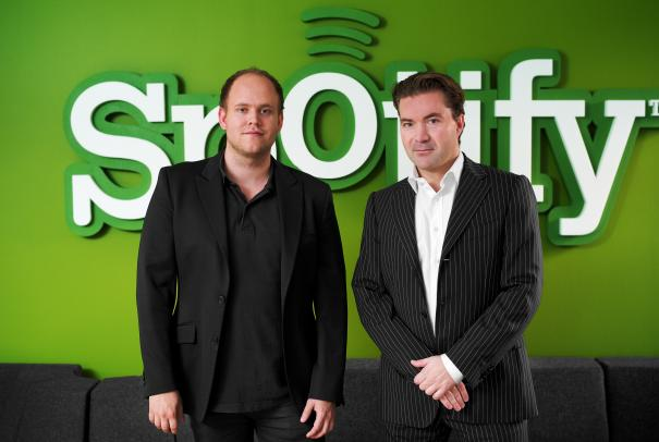 Daniel-EK-y-Martin-Lorentzon-fundadores-de-Spotify