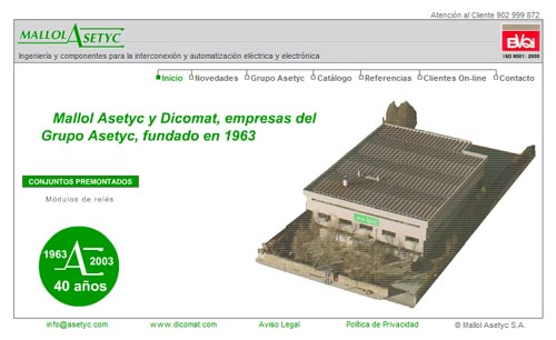 GRUPO ASETYC El Grupo Asetyc implanta Microsoft Dynamics Nav 2009 R2 y CRM 2011