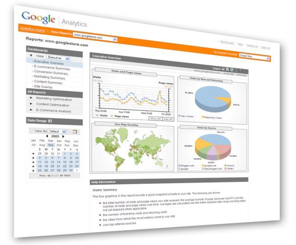 Google Analytics estrena servicio Premium y estadísticas en tiempo real