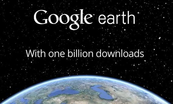 Google Earth supera mil millones de descargas
