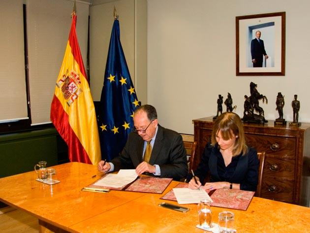 María Garaña y Félix Sanz
