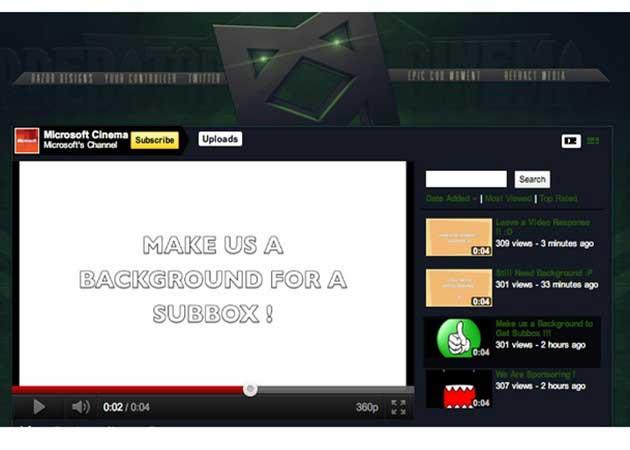 Hackean la cuenta oficial de Microsoft en YouTube