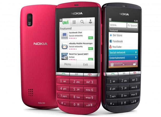 Nokia presenta móviles económicos serie Asha con Symbian