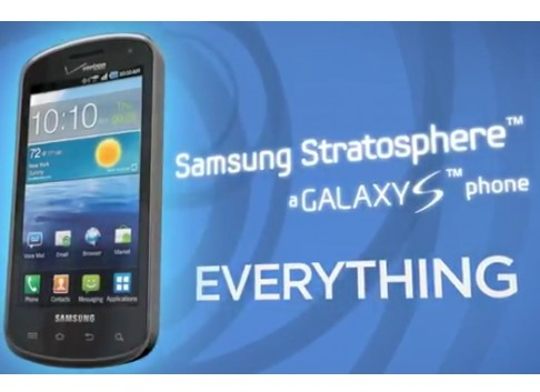 Samsung Stratosphere, smartphone Android contra BlackBerry