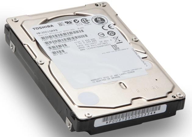 """Nuevos discos duros Toshiba: 2,5 """" a 15.000 rpm"""