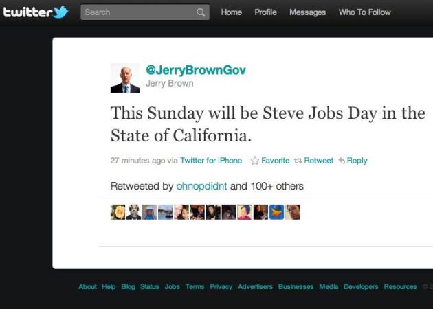 Mañana será el día de Steve Jobs en California
