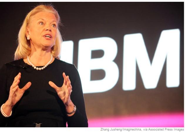 Virginia Rometty reemplazará a Palmisano al mando de IBM