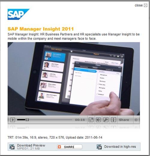 Aplicación SAP