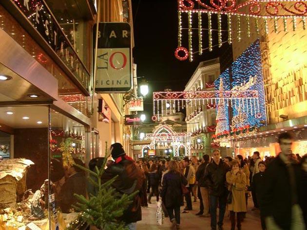 Previsiones comerciales para Navidad