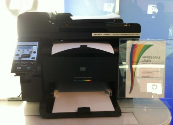 hp lasercolor 605x437 HP continúa su apuesta por ePrint y por el 3D