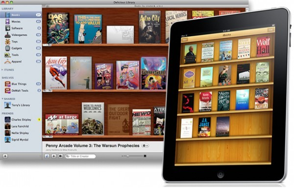 Apple abre biblioteca virtual ibookstore en espa a mcpro for Libreria on line