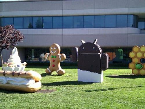icecreamsandwich Android 4.0 y el Nexus Prime el 19 de octubre