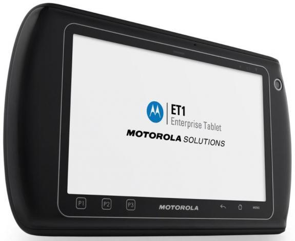 Motorola presenta tablet corporativo ET1 con Android