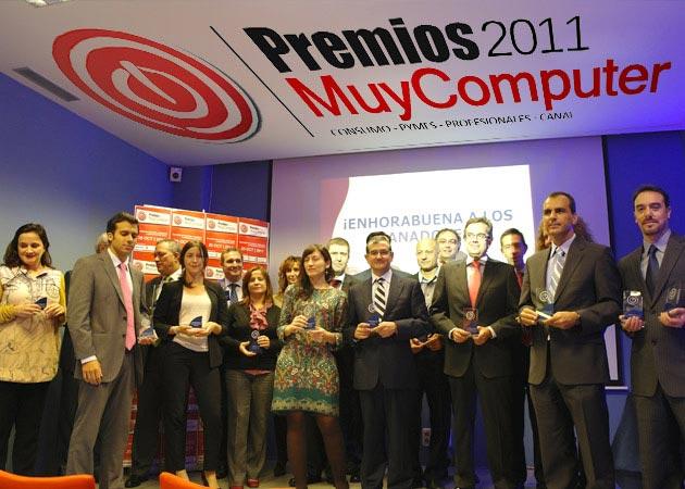 Los ganadores de los Premios MuyComputer 2011 reciben sus galardones