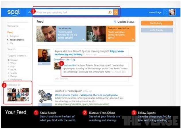 Aparecen nuevos detalles de Socl, la red social de Microsoft