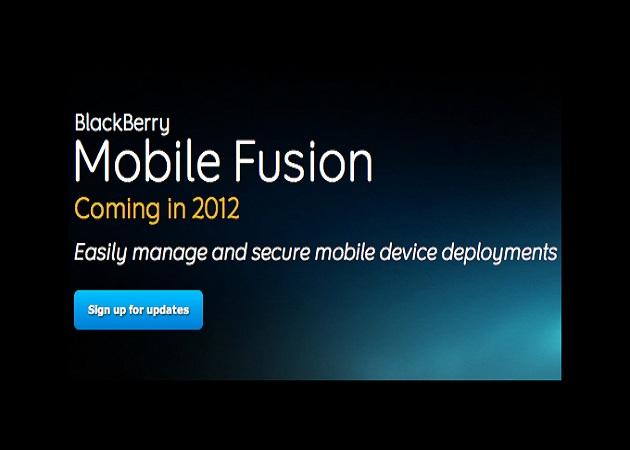 RIM lleva Mobile Fusion hasta iOS y Android
