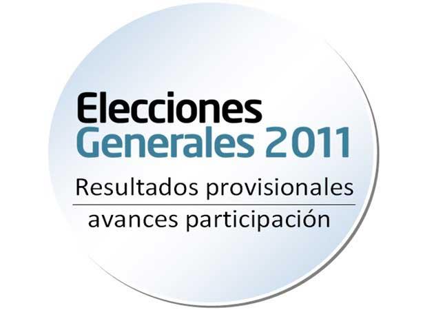Elecciones Generales 20N: resultados en directo