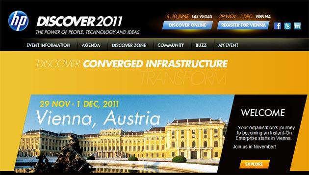 HP Discover 2011 Viena