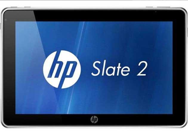HP anuncia lanzamiento del tablet profesional Slate 2