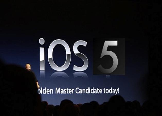 Apple lanza iOS 5.0.1 para solucionar el problema de la batería