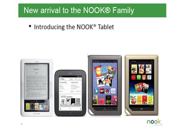Barnes & Noble presenta hoy el tablet Nook, otro gran competidor del iPad