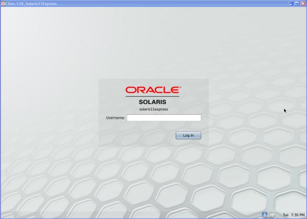 OracleVM-S11-Login