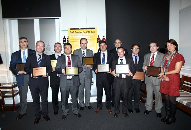 SAP Iberia concede los SAP Quality Awards 2011