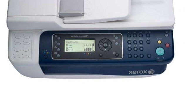 Xerox WorkCentre 6015N 2 630x302 Xerox WorkCenter 6015, versátil y compacta