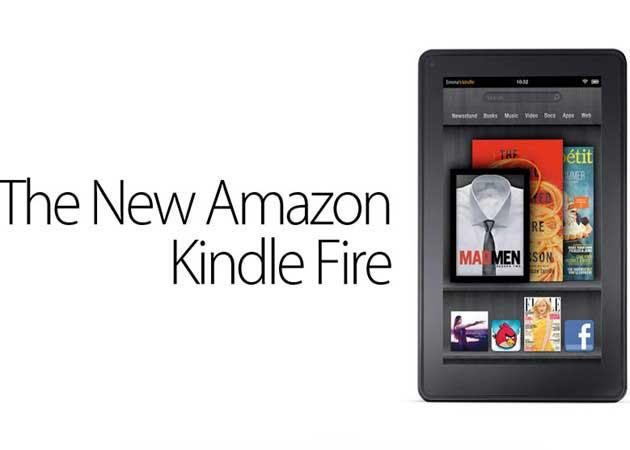 El tablet de Amazon Kindle Fire ya está en el mercado