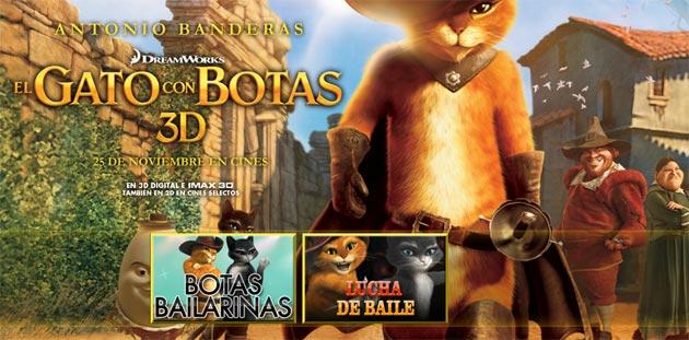 """HP, clave en el diseño de la película de animación """"El Gato con Botas"""""""