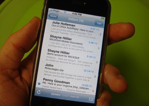 Hotmail triunfa entre los usuarios de iOS 5