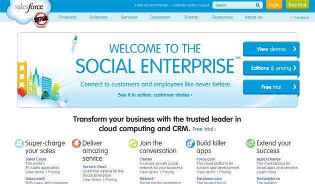 Salesforce.com, a punto de comprar una empresa de servicios cloud