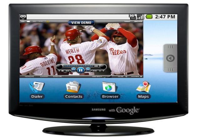 Samsung se prepara para poner en marcha Google TV