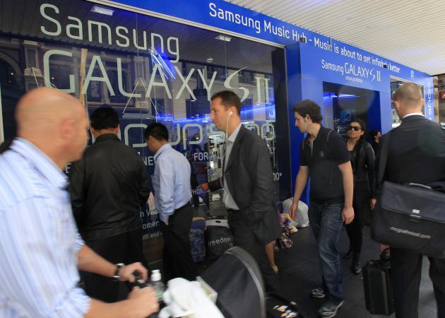 Samsung se apunta un tanto en su guerra contra Apple