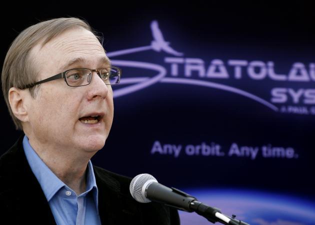 Paul Allen, cofundador de Microsoft, enfoca sus negocios al espacio
