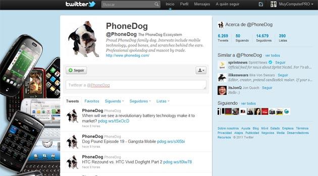 Demandan a un ex-empleado por llevarse los contactos de Twitter