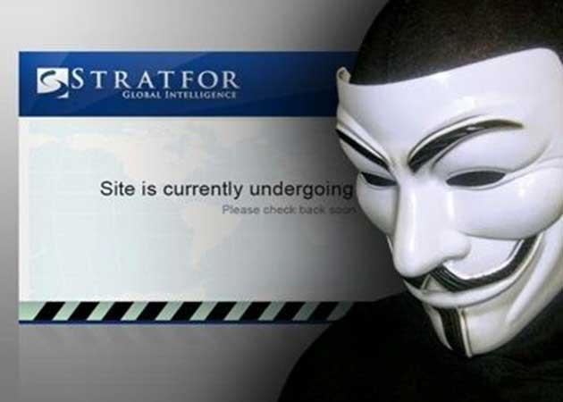 Anonymous hackea Stratfor, compañía privada detrás de la CIA