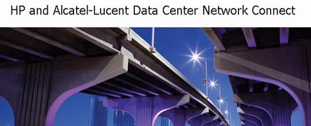 Arquitectura Data Center Network Connect de HP y Alcatel-Lucent