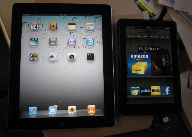 Apple cree que Kindle Fire empujará a los usuarios a iOS