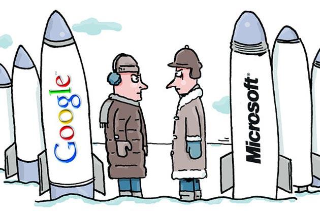 La lucha entre Google y Microsoft por el mercado de las búsquedas