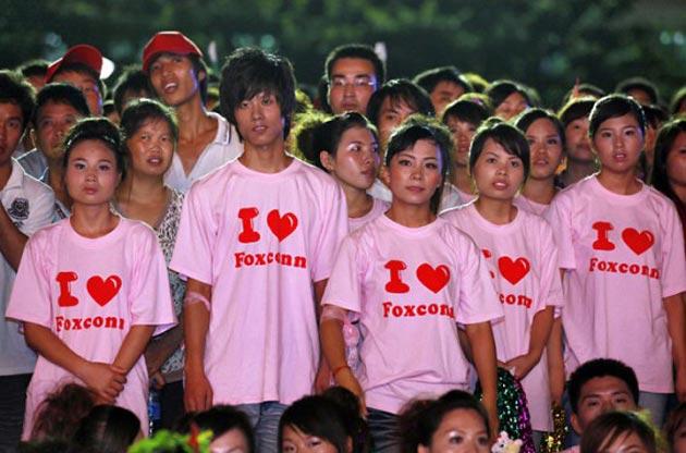 Foxconn se expande en China