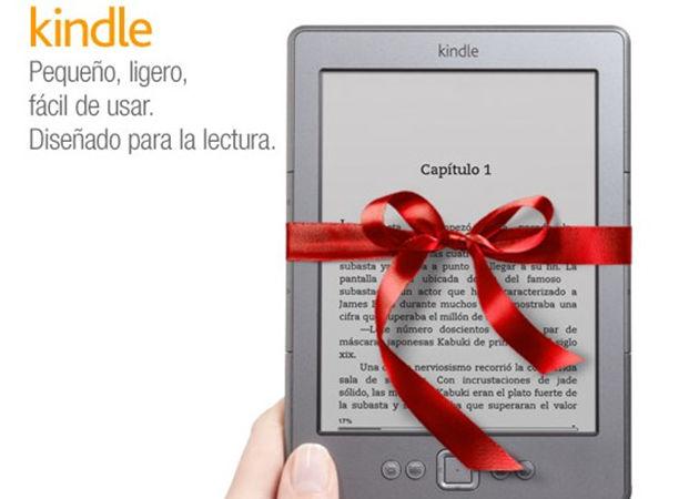 A la venta en España el e-reader Kindle de Amazon