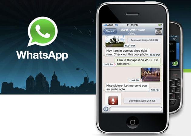 Más Whatsapp y menos SMS para felicitaciones navideñas