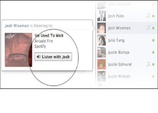 Facebook crea un nuevo botón del que se beneficiará su acuerdo con Spotify