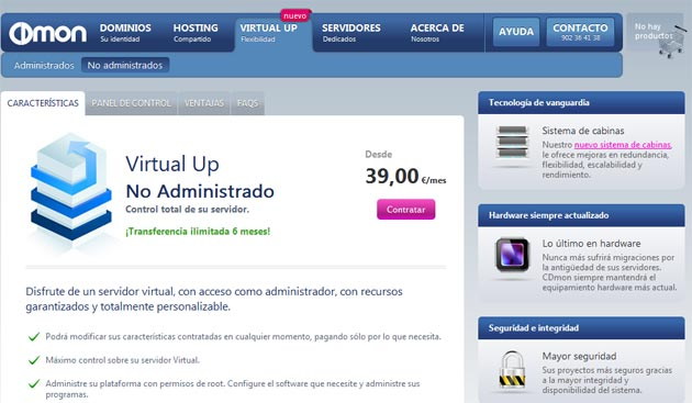 CDmon Virtual Up