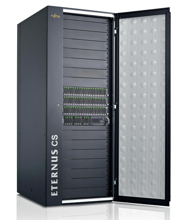 Fujitsu ETERNUS CS800 S3: 95% menos de volumen de backup