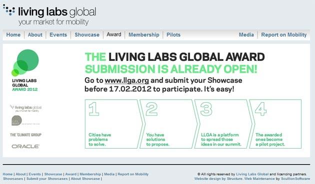 Living Labs Global Award